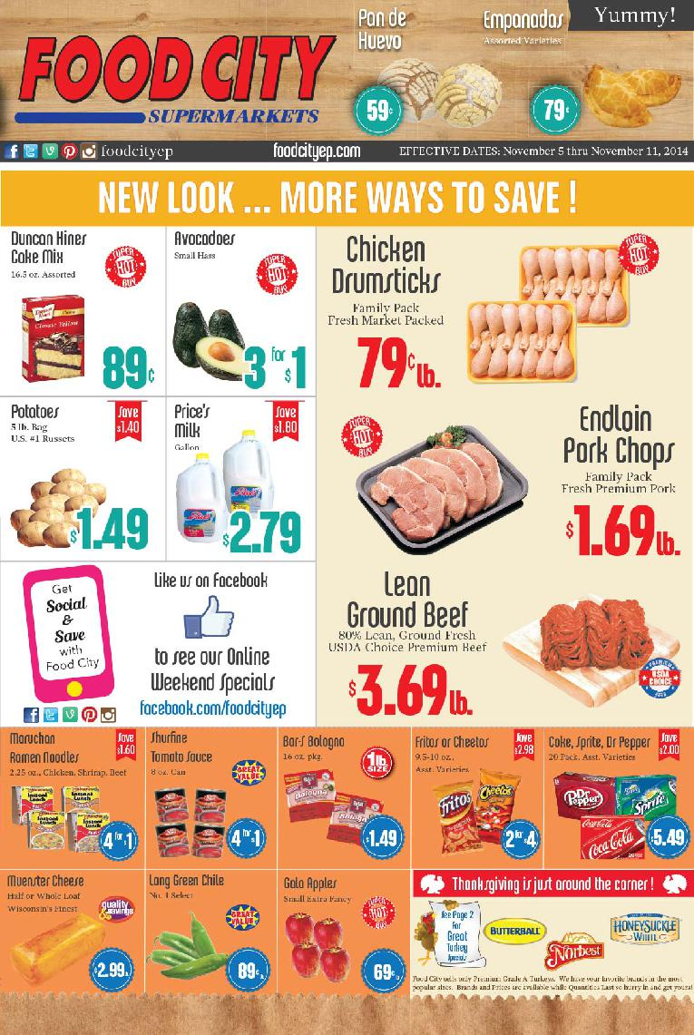 Read All About It Our Weekly Ad Has A New Look Food City